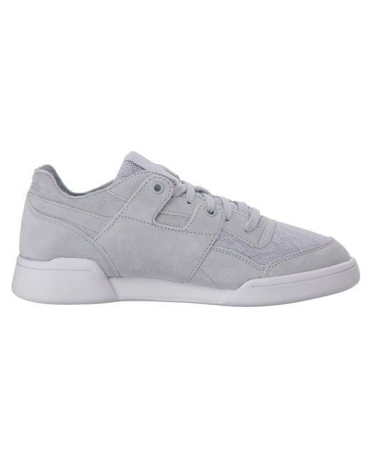 3caf1335f2349 ... Reebok - Gray Workout Lo Plus Cold Pastel - Lyst ...