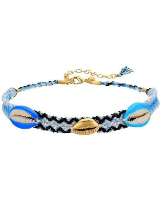 Rebecca Minkoff - Blue Lola Friendship Choker Necklace - Lyst