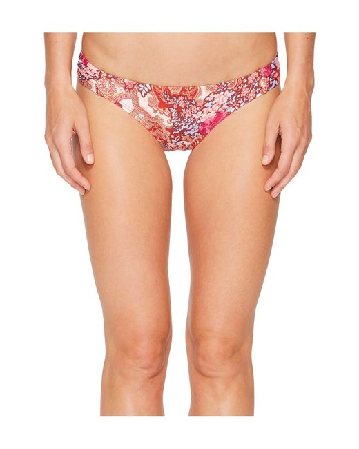 Laundry by Shelli Segal - Multicolor Floral Paisley Tab Side Hipster Bikini Bottom - Lyst