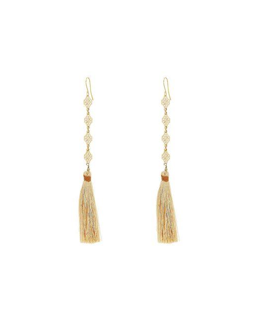 Vanessa Mooney - Multicolor The Estella Tassel Earrings - Lyst
