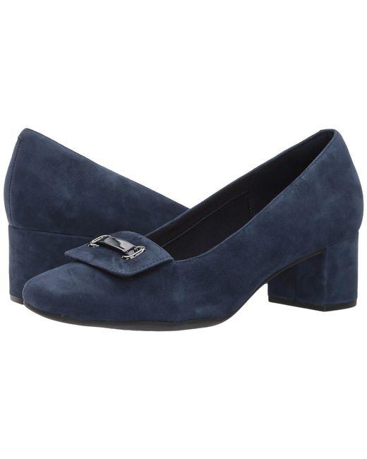 Clarks - Blue Tealia Gia - Lyst