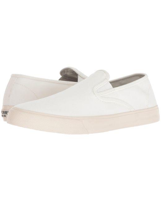Sperry Top-Sider - White Captain's Slip-on for Men - Lyst