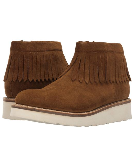 GRENSON - Brown Trixie Moccasin - Lyst