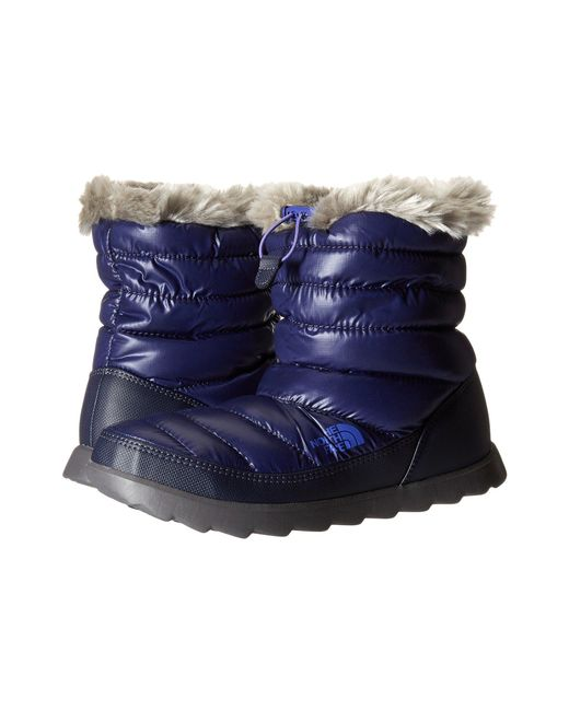 The North Face - Blue Thermoball™ Micro-baffle Bootie - Lyst