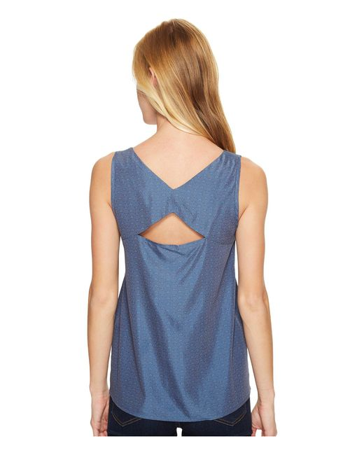 Mountain Khakis - Blue Hailey Tank Top - Lyst