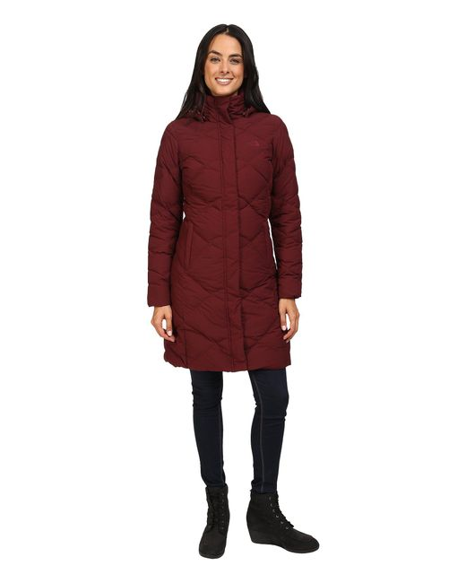 The North Face - Red Miss Metro Parka - Lyst