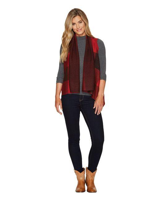 Woolrich - Red Buffalo Sweater Vest - Lyst