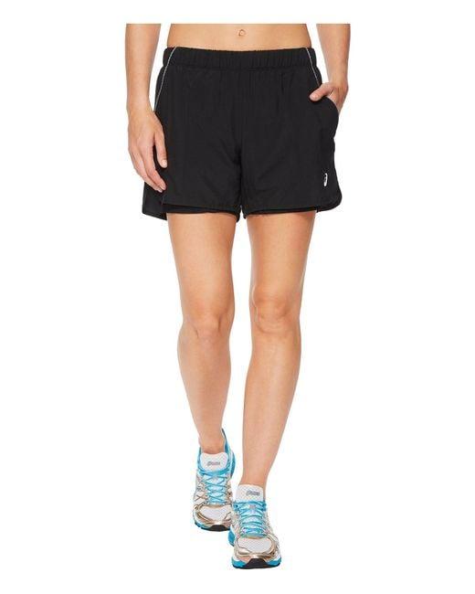 Asics - Black Court Shorts - Lyst