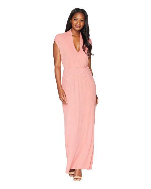 Lucky Brand - Pink Rib Dress - Lyst