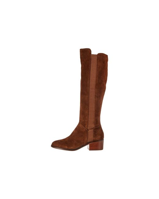 7e714249287 Lyst - Steve Madden Giselle To The Knee Boot in Brown - Save 44%