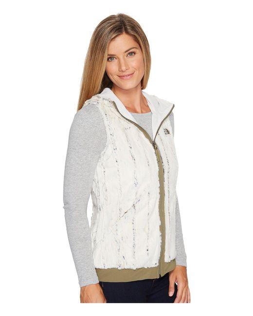 70e784f9f85a Lyst - The North Face Furlander Vest in White - Save 43%