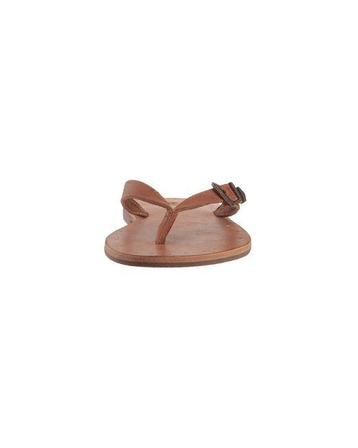 3c9c4c8ca Lyst - Frye Ally Western Flip-flop in Brown - Save 52%