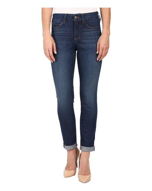NYDJ - Blue Anabelle Skinny Boyfriend Jeans In Atlanta - Lyst