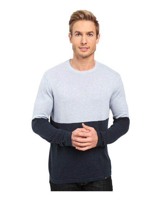 Prana - Multicolor Color Block Sweater for Men - Lyst