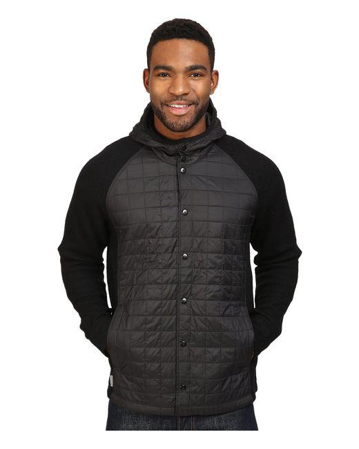 Icebreaker - Black Departure Jacket for Men - Lyst