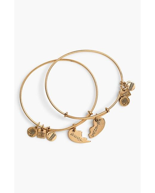 Gold Best Friend Bracelets: Alex And Ani 'charity By Design