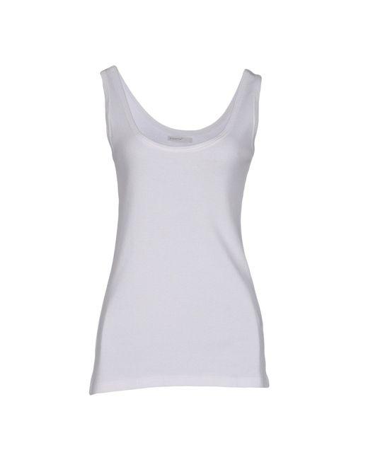 Almeria | White Tank Top | Lyst