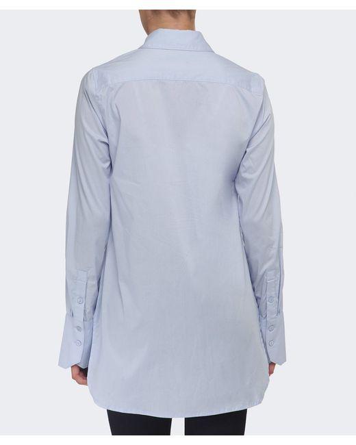 Gestuz | Blue Payson Plain Shirt | Lyst