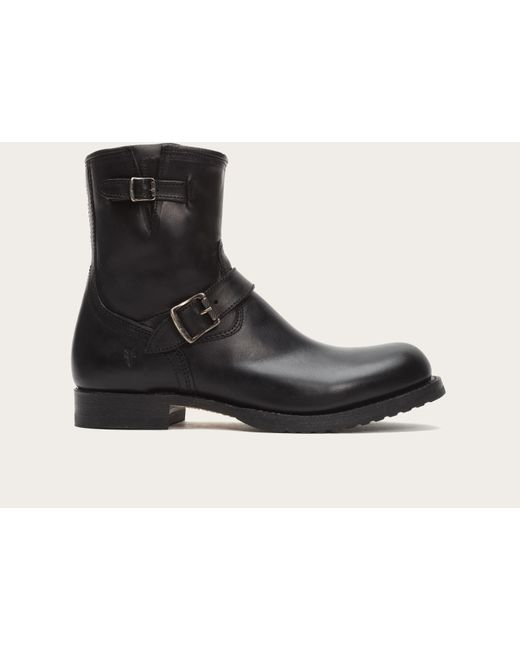 Frye | Black Logan Engineer Inside Zip for Men | Lyst