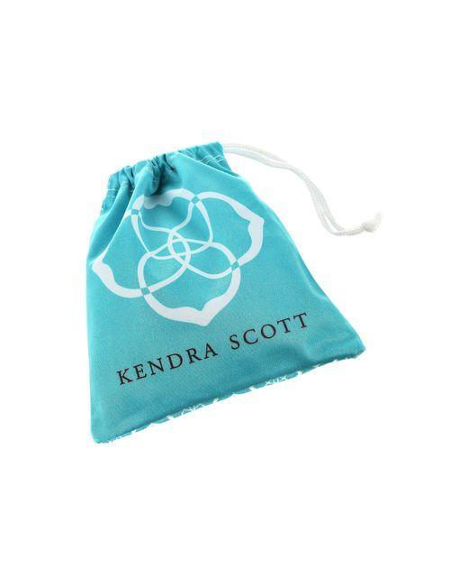Kendra Scott | Metallic Naomi Two Finger Ring Adjustable | Lyst