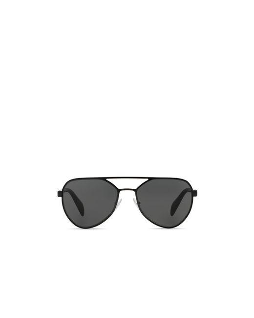 Prada | Black Aviator Sunglasses, 58mm for Men | Lyst
