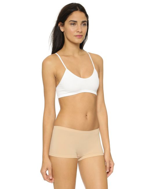 Free People | Natural Baby Racer Back Bra | Lyst
