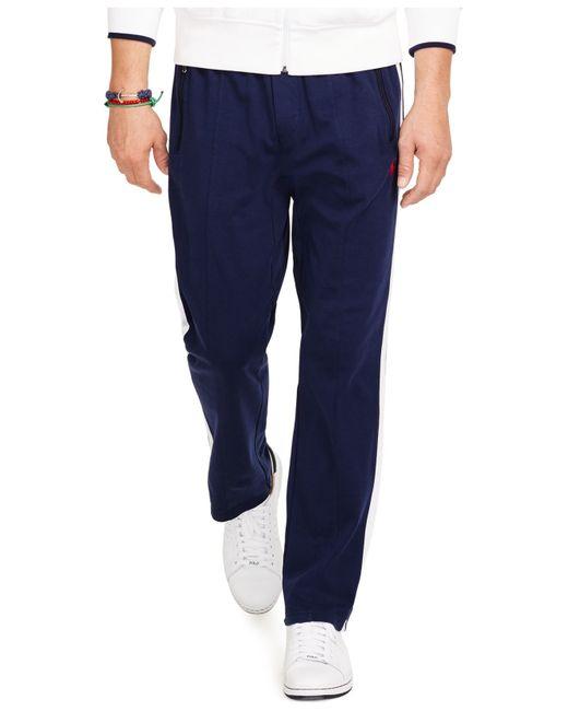 Polo Ralph Lauren | Blue Interlock Track Pants for Men | Lyst