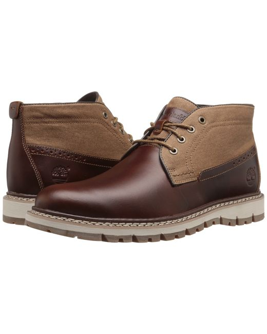 timberland britton hill chukka in brown for men medium. Black Bedroom Furniture Sets. Home Design Ideas