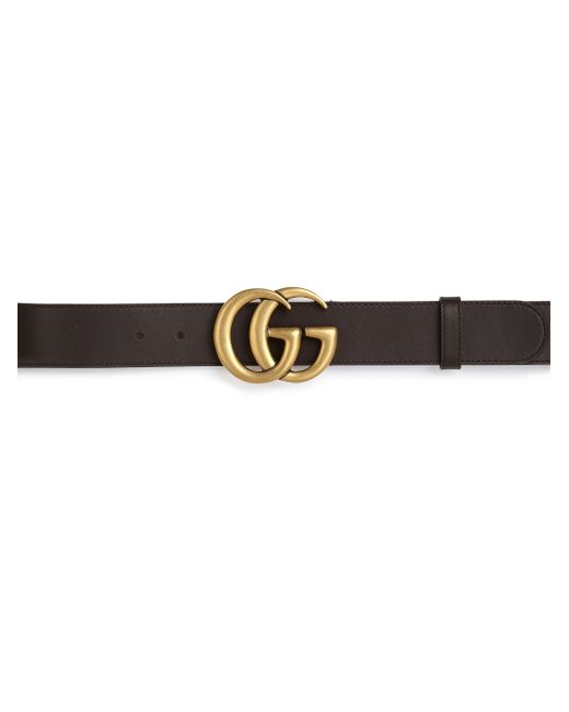 Gucci | Brown Gg Leather Belt for Men | Lyst