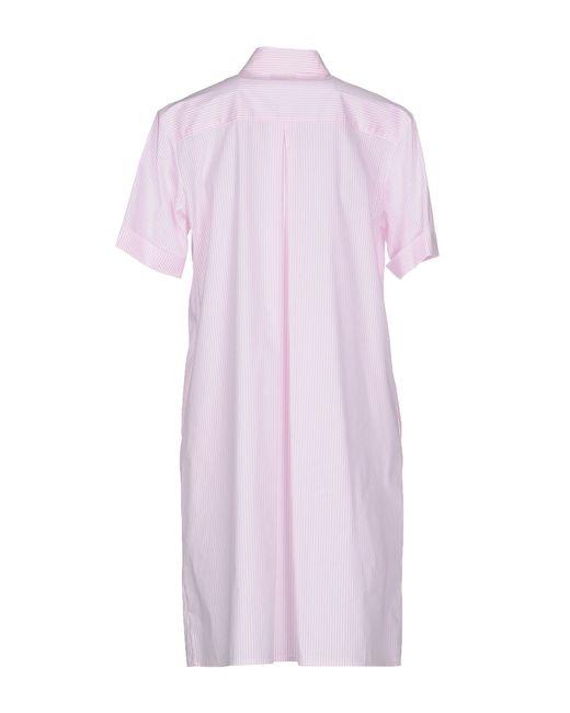 P.A.R.O.S.H. | Pink Short Dress | Lyst