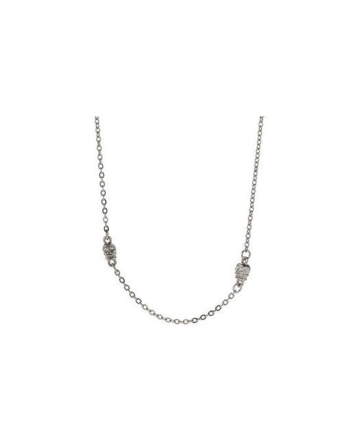 Bing Bang | Metallic Skull Choker Necklace | Lyst