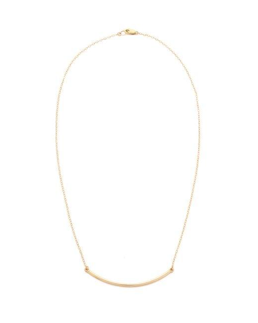 Kristen Elspeth | Metallic Arc Necklace | Lyst
