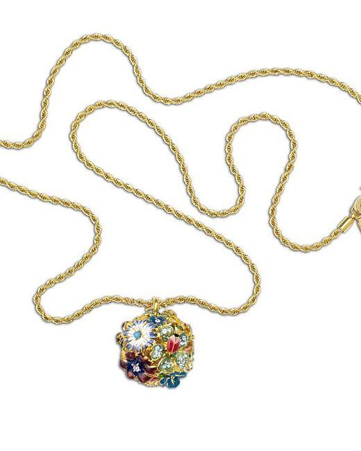 Kenneth Jay Lane | Multicolor Multi-color Flower Pendant | Lyst