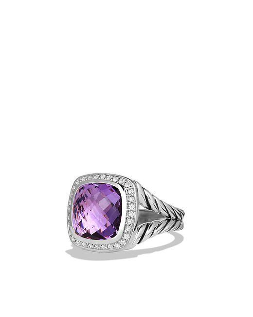 David Yurman | Purple Albion Ring With Amethyst And Diamonds | Lyst