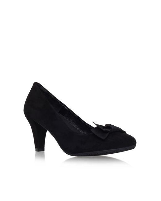 Carvela Kurt Geiger | Black Anya Mid Heel Court Shoes | Lyst