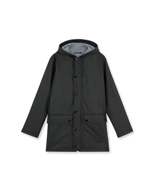 Petit Bateau   Black Women's Water-repellent Raincoat   Lyst