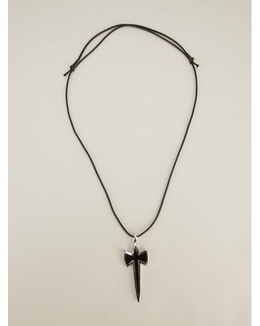 Gavello | 'black Essenses' Pendant Necklace | Lyst