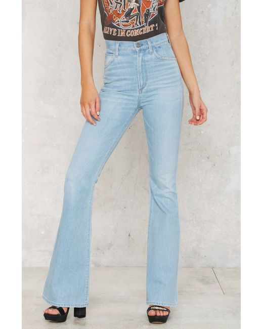 citizens of humanity cherie flared jeans in blue save 40. Black Bedroom Furniture Sets. Home Design Ideas