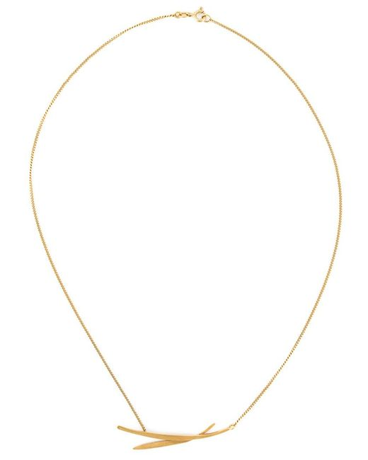 Wouters & Hendrix | Metallic 'bamboo' Necklace | Lyst