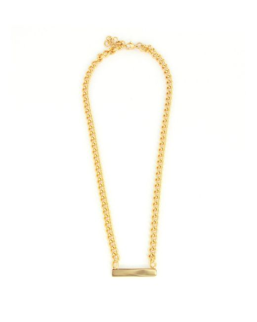 Baukjen   Metallic Wanderlust & Co Name-plate Necklace   Lyst