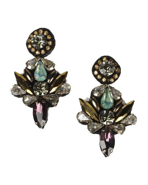 Deepa Gurnani | Purple Earrings | Lyst