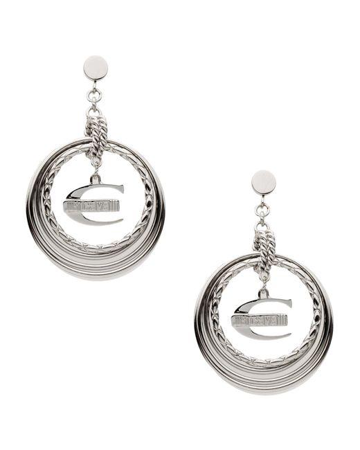 Just Cavalli | Metallic Earrings | Lyst