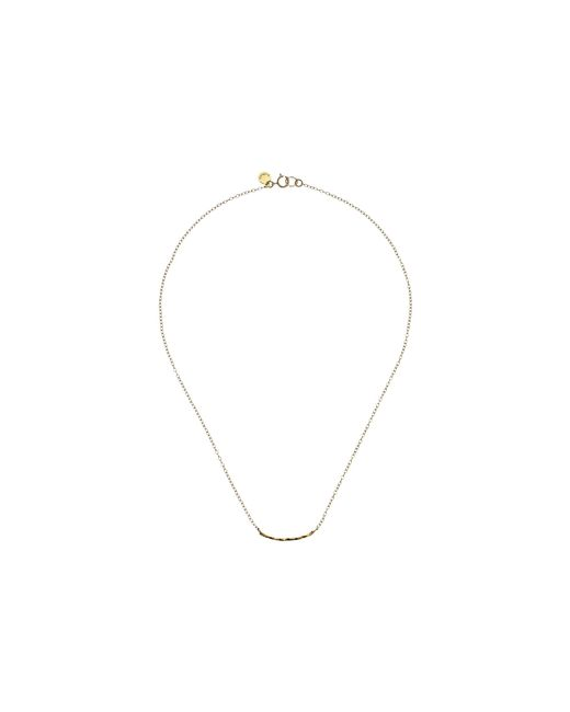 Gorjana | Metallic Taner Bar Mini Necklace | Lyst
