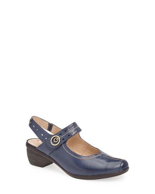 Blondo | Blue 'fawn' Sandal | Lyst