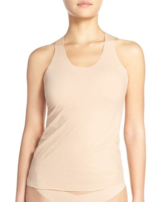 Commando | Natural Whisper Weight Racerback Tank | Lyst
