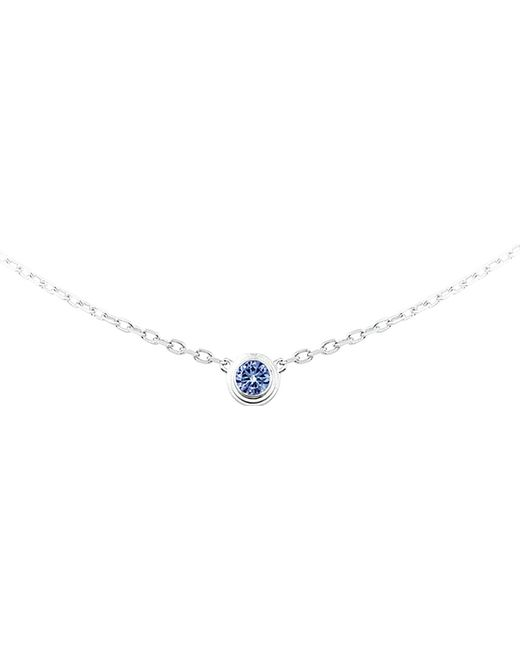 Cartier | Blue Saphirs Légers De 18ct White-gold And Sapphire Necklace | Lyst