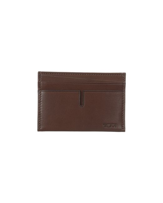 Tumi | Brown Chambers Slim Card Case for Men | Lyst