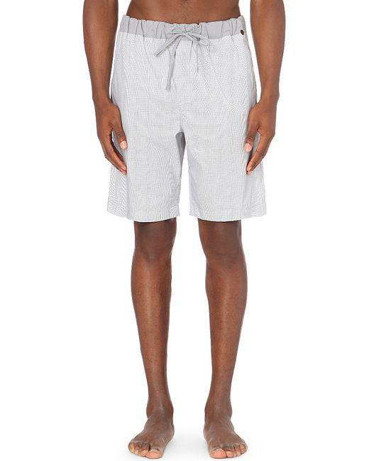 Hanro | Gray Geometric-print Cotton Shorts for Men | Lyst