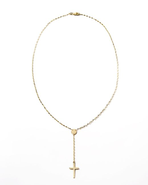 Lana Jewelry | Metallic Gold Crossary Necklace | Lyst
