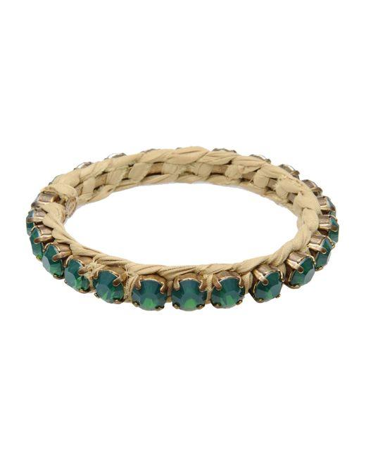 Lanvin | Green Bracelet | Lyst